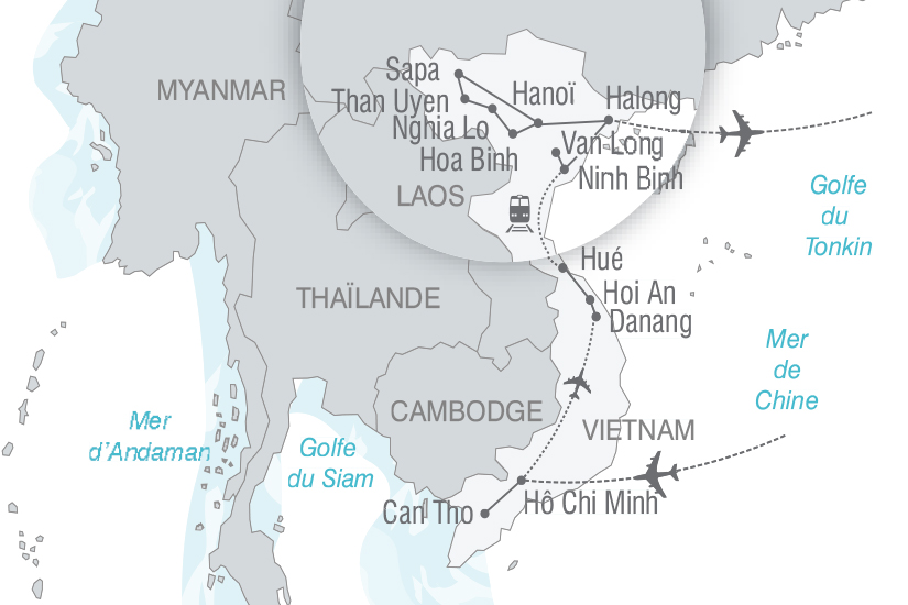 carte Vietnam Vietnam authentique nt 2018_261 727571