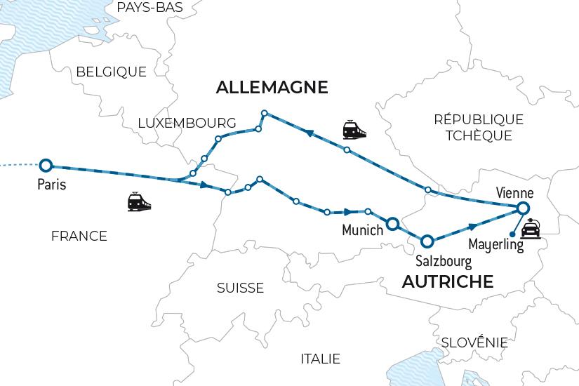 carte Voyage en train Baviere et Autriche Salaun bas carbone 20_338 124336