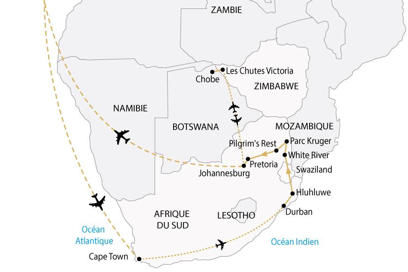 carte afrique australe cap bonne esperance victoria premium sh 2018_236 332603
