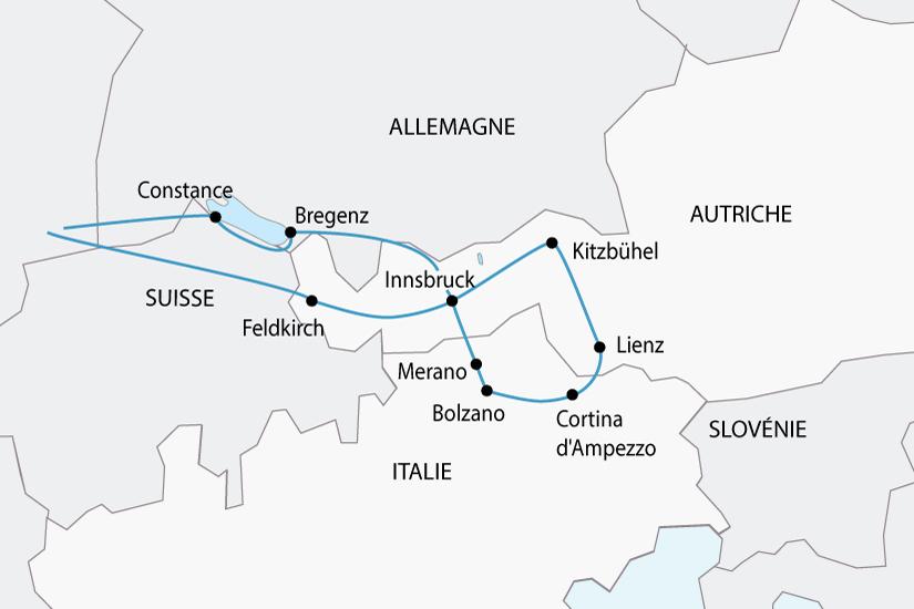 carte autriche italie trois tyrol sh 2018_236 725474