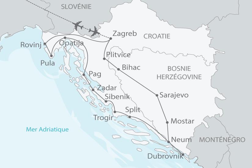 carte croatie bosnie merveilles nt 2018_238 321742
