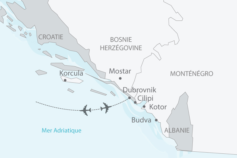 carte croatie pays aux mille iles nt 2018_238 202634