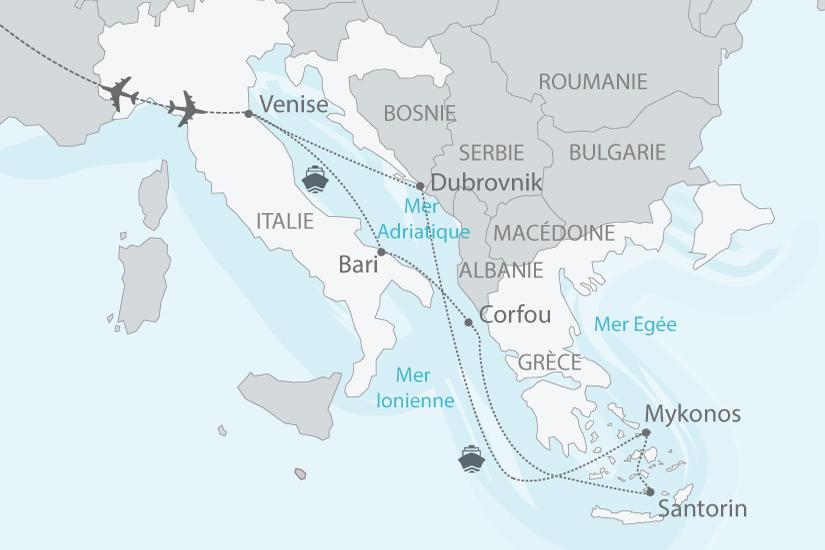 croisi re croatie gr ce italie les charmes de la mer adriatique 9 jours nationaltours. Black Bedroom Furniture Sets. Home Design Ideas