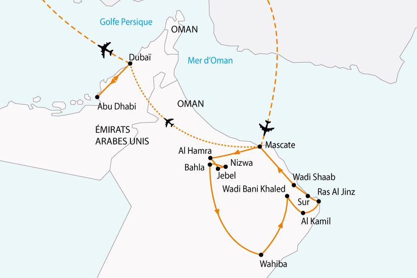 carte emirats oman charmes orient sh 2018_236 329736