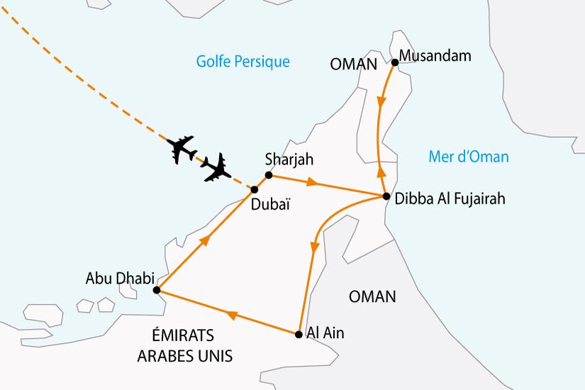 carte emirats pays noir sh 2018_236 175466