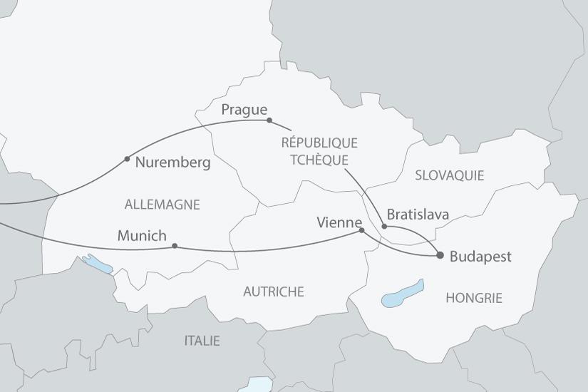 carte europe centrale prague brastislava budapest vienne nt 2018_238 249317