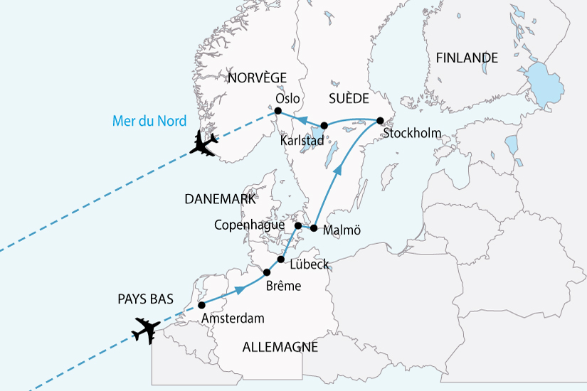 carte europe nord capitales nordiques sh 2018_236 286165