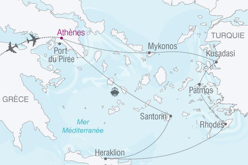 carte grece perles mer egee 585701