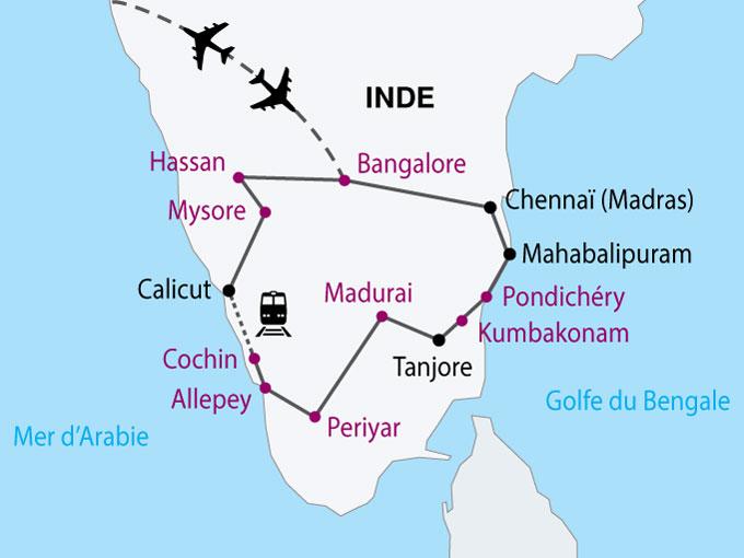 Circuit En Inde Magie De L Inde Du Sud 14 Jours