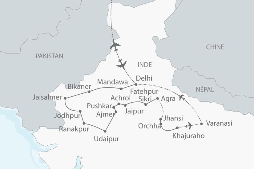 carte inde nord rajasthan gange nt 2018_238 273356