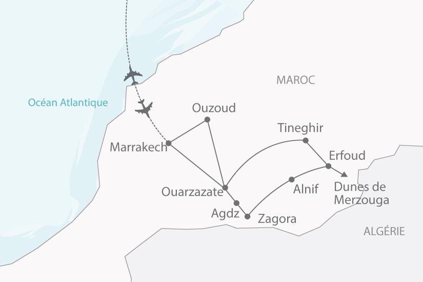 carte maroc desert oasis 4x4 nt 2018_238 770534