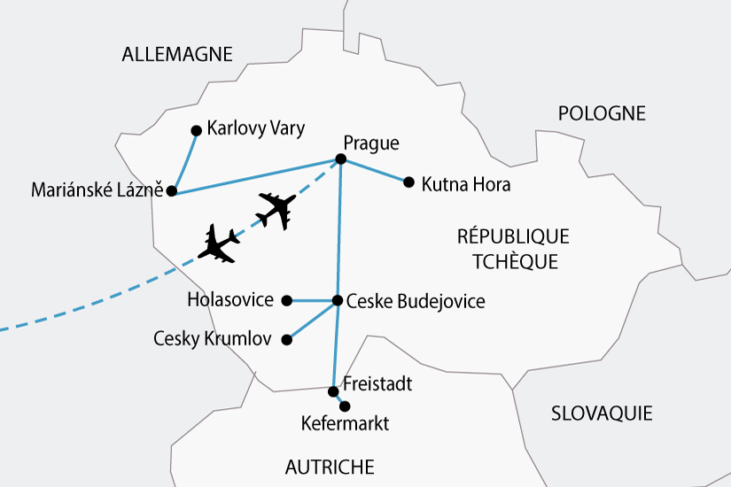 carte republique tcheque prague boheme sud sh 2018_236 363276