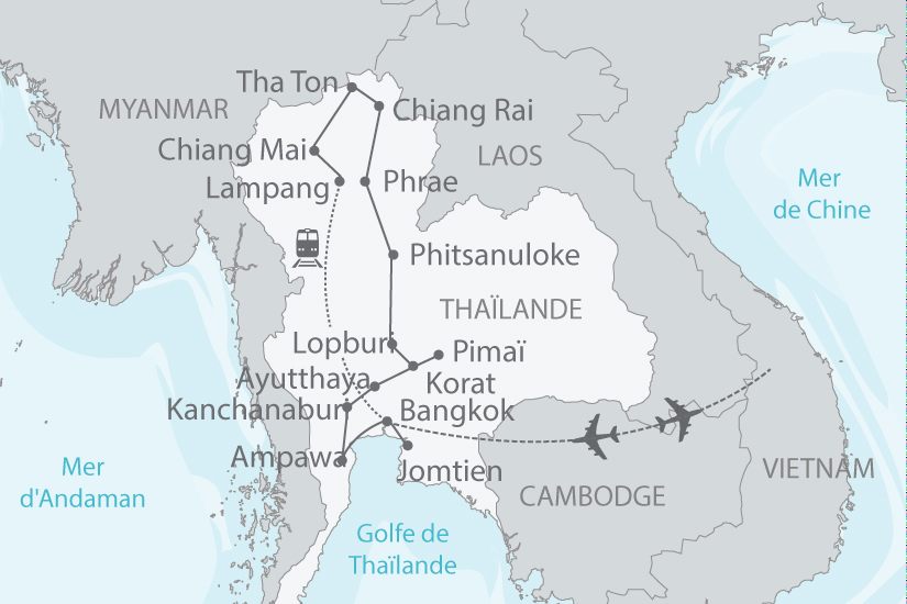 carte thailande riviere kwai temples khmers femmes girafes nt 2018_238 622739