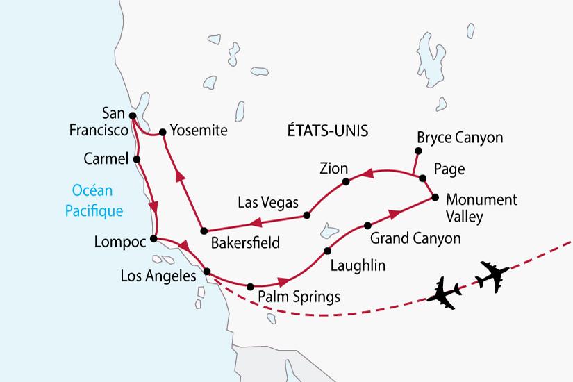 carte usa californie ouest americain sh 2018_236 760496