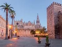 espagne seville cathedrale alcazar