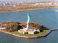 etats unis new york liberty island