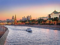 russie moscou kremlin et moskova
