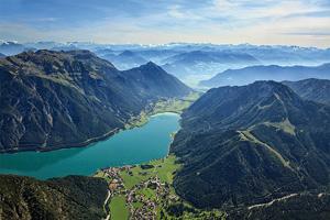 vignette Autriche Lac Achensee