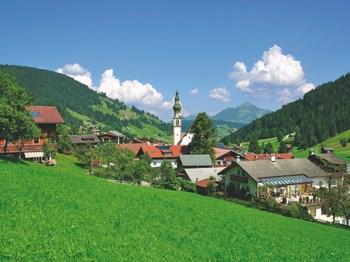 vignette Autriche paysage du tyrol