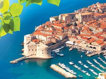 vignette Croatie dubrovnik vue aerienne