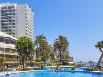 vignette Espagne hotel thb torrequebrada vue ensemble avec piscine