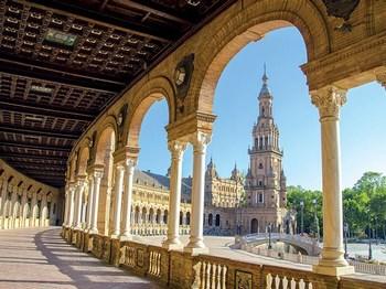 vignette Espagne seville place d espagne