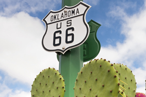 etats unis signe route 66 18 as_71883971