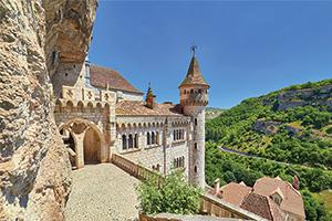 france dordogne rocamadour palais abbatiale as_274611449