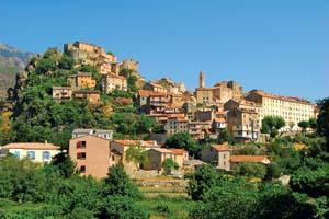 france corse corte village mer 61 fo_47956606