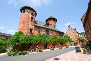 vignette France perigord collonges la rouge it