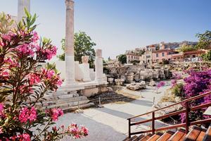 grece athenes quartier plaka as_284485848
