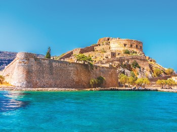 vignette Grece crete forteresse de spinalonga