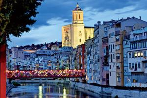 italie gerone cathedrale et pont decore 17 as_54504923
