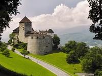 vignette Liechtenstein vaduz chateau