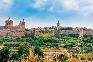 vignette Malte mdina chateau vue panoramique 67 as_97568475