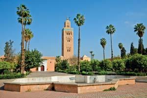 vignette Maroc marrakech koutoubia mosquee jardin 28 it_12697549