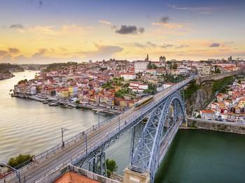 vignette Portugal porto vue ensemble pont