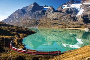 suisse train autour des glaciers de bernina et de moteratsch 74 as_188852222