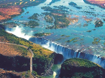 vignette Zimbabwe chutes victoria
