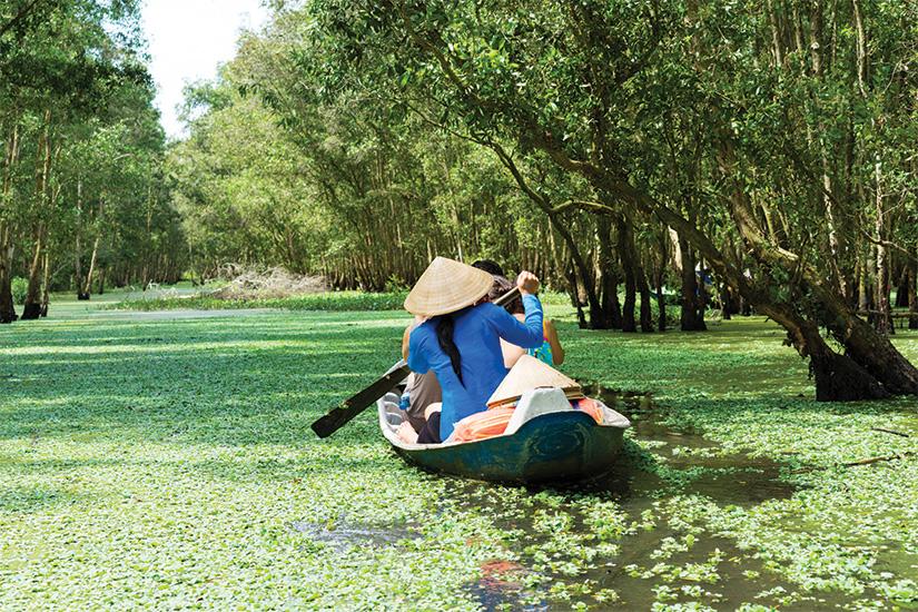 (image) image Bateau tourisme delta du Mekong Vietnam 43 as_133819651