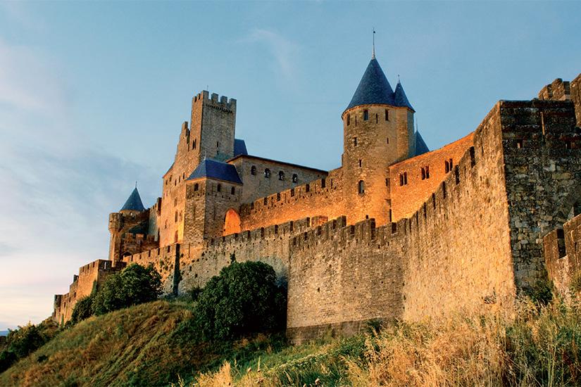 (image) image Cite medievale de Carcassonne au coucher du soleil 68 it_152021983