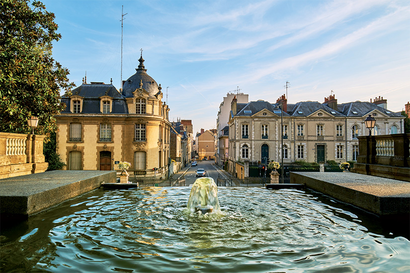 (image) image Entree du parc thabor Rennes ville Bretagne France 77 as_190173026
