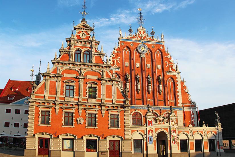 (image) image Maison des tetes noires Riga Lettonie 03 as_54945544