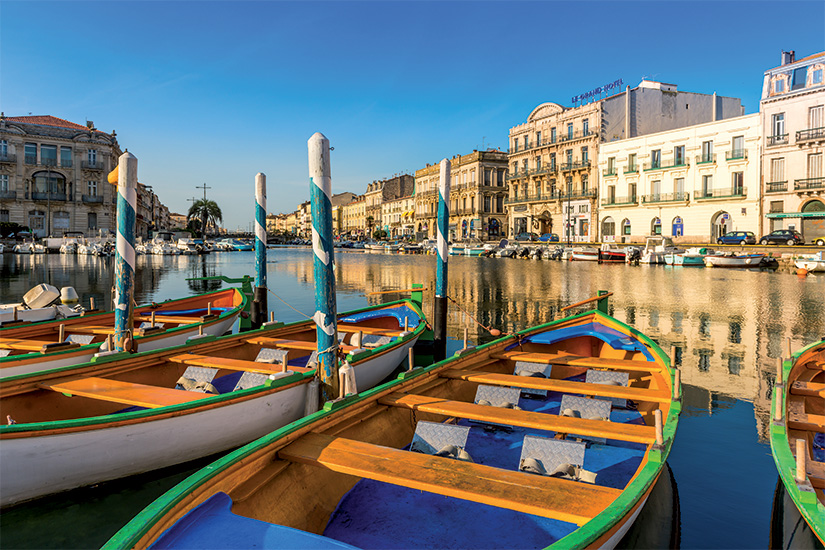 (image) image Royal Canal et ses bateaux a Sete Occitanie Herault France 58 as_159203700