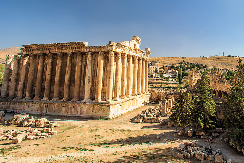 (image) image liban baalbek temple Bacchus 13 as_86712722