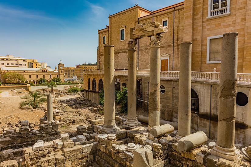 (image) image liban beyrouth ruines Roman Cardo Maximus 11 it_697031430