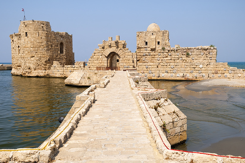 (image) image liban sidon chateau 08 it_183834548