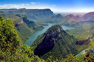 afrique sud blyde canyon panorama  fo