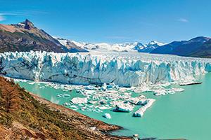 argentine perito moreno glagier vue panoramique  fo