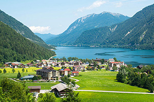 autriche achensee panorama lac  it